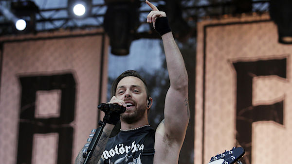 Matthew Tuck na letošním festivalu Rock for People.