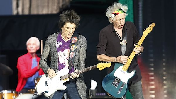Ron Wood a Keith Richards