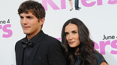 Ashton Kutcher a Demi Mooreová