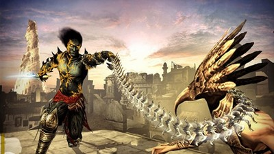 Ze hry Prince of Persia Rival Swords od firmy Ubisoft