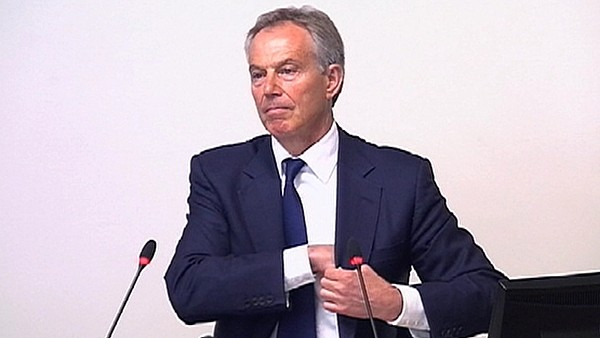 Britský expremiér Tony Blair