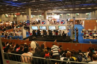 Turnaj Electronic Sports World Cup ve Francii.