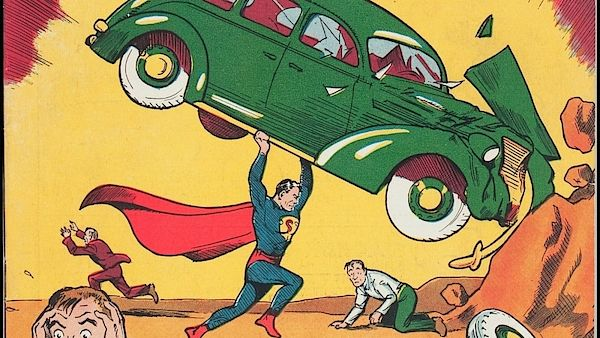 Superman z roku 1938
