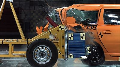 Volvo - crash test