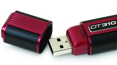 USB flash disk DataTraveler 310 s kapacitou 256 GB