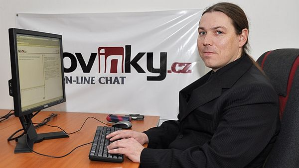 Jan Kadečka na on-line chatu