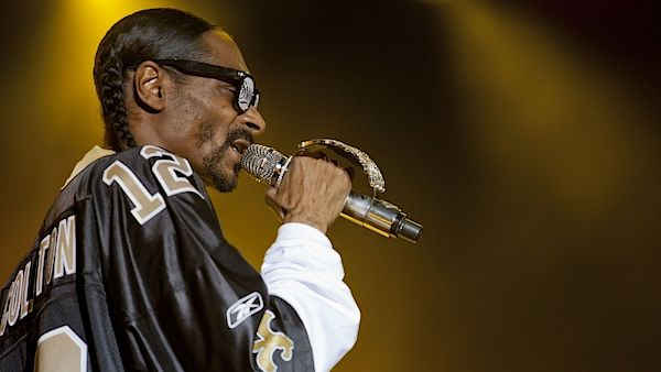 Rapper Snoop Dogg
