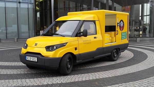 Streetscooter Deutsche Post