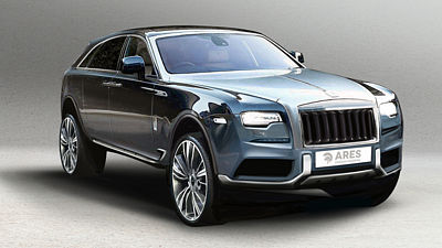 ARES DESIGN CONCEPT ROLLS ROYCE GHOST II SUV