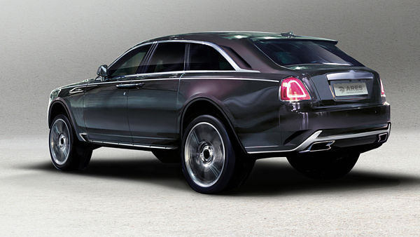 Ares Design koncept Rolls Royce Ghost II SUV