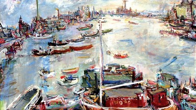 Oskar Kokoschka: London Chelsea Reach