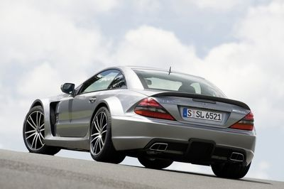 Mercedes SL 65 Black Series