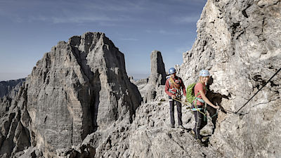 Let's Dolomites - Trekking with the apline guides