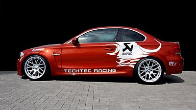 BMW 1 M Coupé v úpavě TechTec