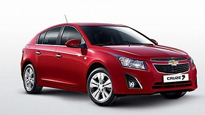 Chevrolet Cruze (facelift, 2012)