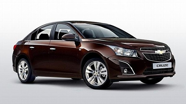 Chevrolet Cruze - sedan (facelift, 2012)