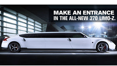 Nissan 370Z Limo
