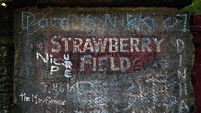 Strawberry Field v liverpoolské čtvrti Woolton
