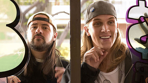 Kevin Smith a Jason Mewes ve filmu Clerks 2: Muži za pultem