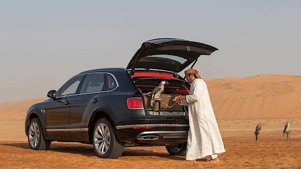 Bentley Bentayga Falconry Mulliner