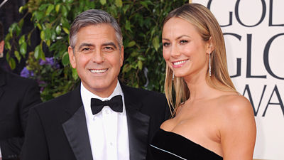 George Clooney a Stacey Keiblerová