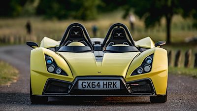 Elemental Rp1 roadster road spec.