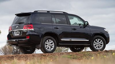 Toyota Land Cruiser 200 V8 2016