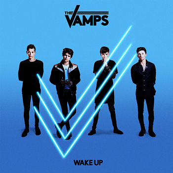 Obal alba Wake Up britských The Vamps.