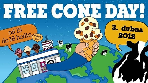 Free Cone Day 3.4.2012