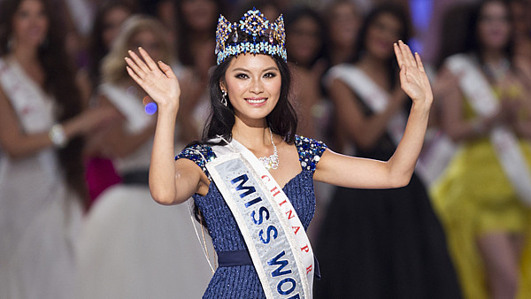 Miss World 2012 Jü Wen-sia