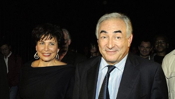 Anne Sinclairová a Dominique Strauss-Kahn