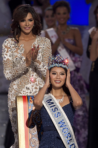 Nová Miss World Jü Wen-sia