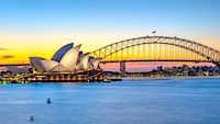 Opera a Harbour Bridge jsou dominantami Sydney.