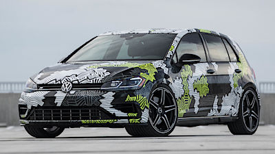 VW Golf R Abstract Concept