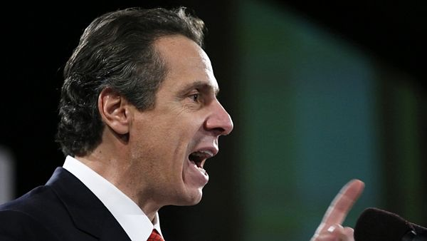 Newyorský guvernér Andrew Cuomo gives his annual State of the State address in AlbanyNew York Govern