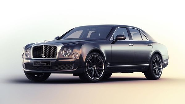 Bentley Mulsanne Speed Blue Train