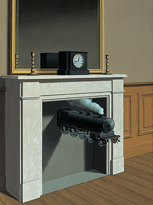 René Magritta: Time Transfixed, 1938