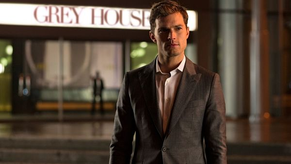 Jamie Dornan alias Christian Grey