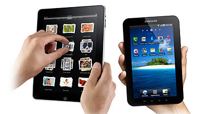 Apple iPad versus Samsung Galaxy Tab