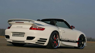 SpeedART Porsche BTR-XL 911 Turbo Cabrio