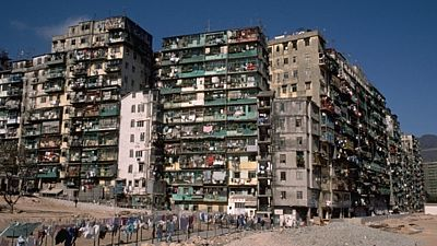Kowloon Walled City v Číně