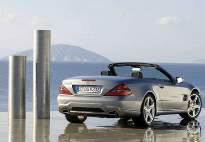 Mercedes-Benz SL 63 AMG po faceliftu