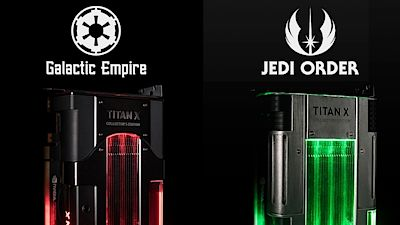 Nvidia Titan Xp v edici Star Wars