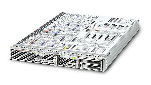 Nový server Oracle SPARC T5-1B