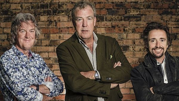 James May, Jeremy Clarkson a Richard Hammond.