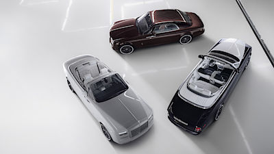Rolls-Royce Phantom Coupé a Drophead Coupé ve verzi Zenith