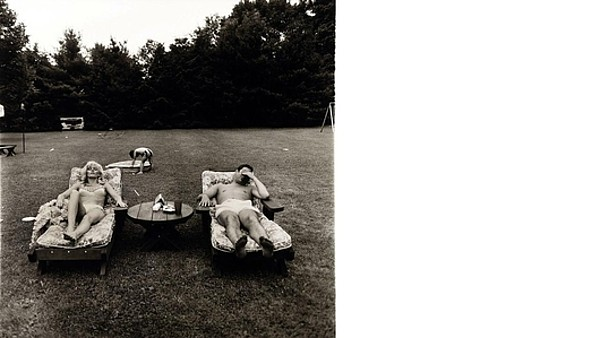 Diane Arbus: A Family on the Lawn One Sunday in Westchester, N. Y. (1968)