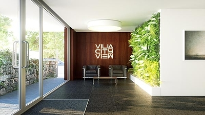 Villa city view