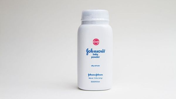 Baby powder od firmy Johnson & Johnson