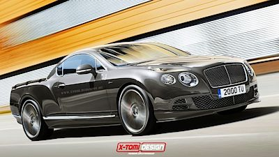Bentley Continental GT Speed Pickup